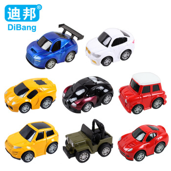 Children's educational toys cartoon warrior alloy car model toy car sales