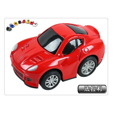 Children's educational toys cartoon warrior alloy car model toy car sales