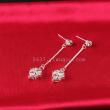 A high-grade diamond earrings creative fringe earrings earrings Korean zircon jewelry