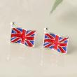 Creative money Jack Square Earrings British flag Earrings accessories Yiwu punk