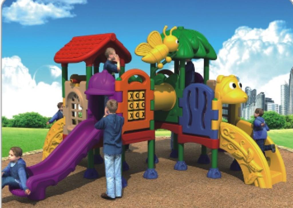 幼儿园滑梯 户外滑梯 中型滑梯