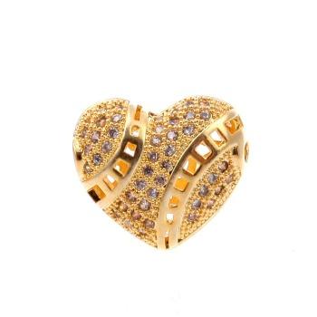 люблю браслет ожерелье аксессуары оптовой золотым напылением против аллергии не угасает с циркон микро - прямой