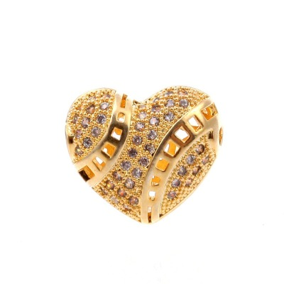 Love bracelet necklace accessories wholesale gold plating anti allergy does not fade with zircon micro direct