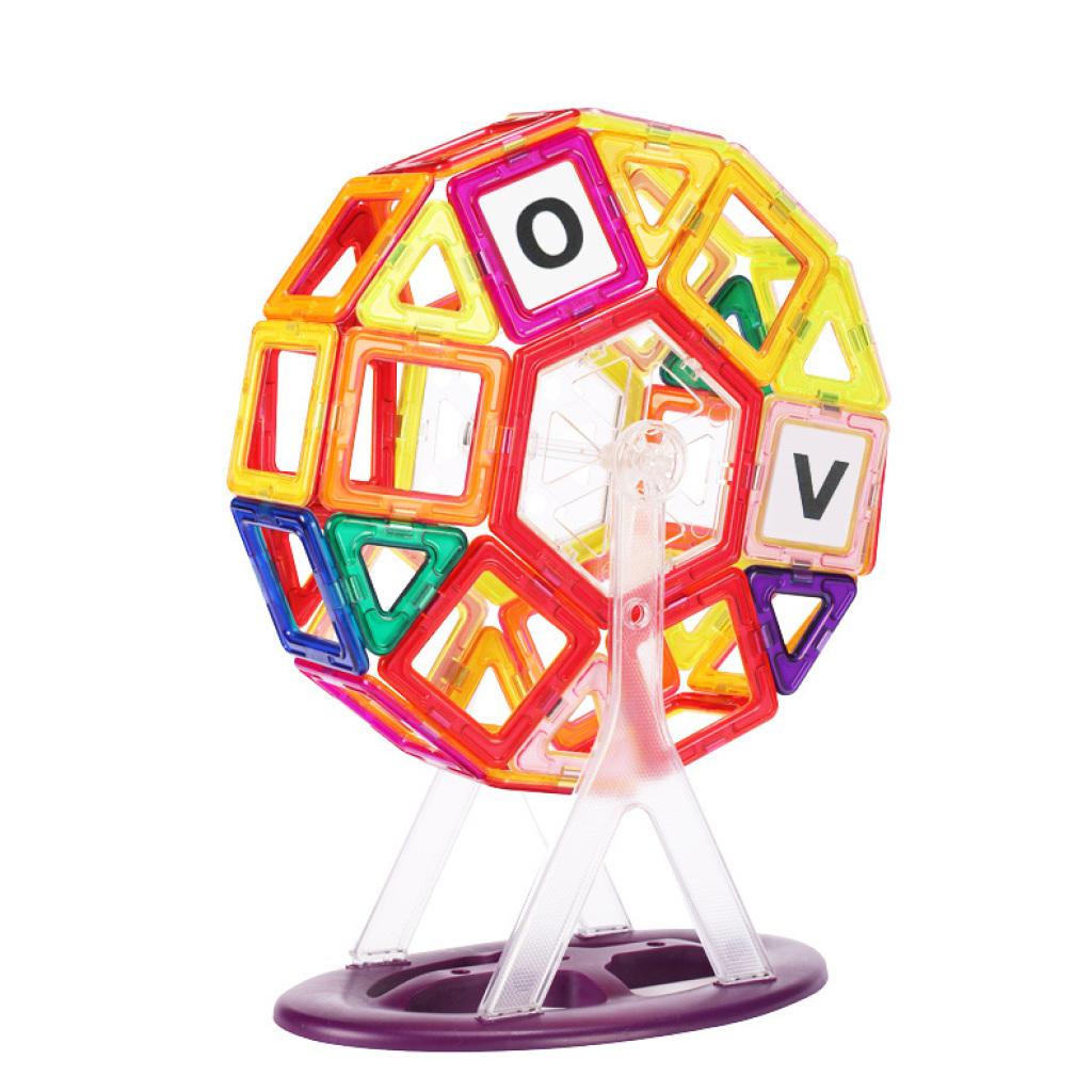 神奇百变提拉磁力片积木益智儿童磁铁玩具构建片磁性积木收纳箱