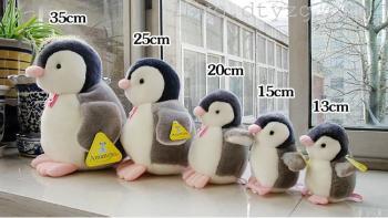 粉嘴企鹅 动物公仔玩偶 发声布娃娃 毛绒玩具可爱创意情侣礼物