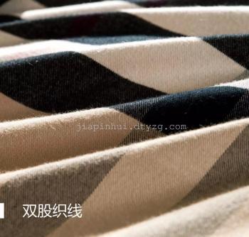 色织拉绒四件套   巴比伦