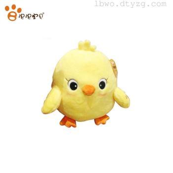 正品 会叫的小黄鸡 小鸡快跑毛绒公仔送女生小孩生日礼物