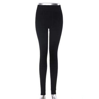 Men's cotton tight leggings Cotton skinny warm pants figure flattering pants