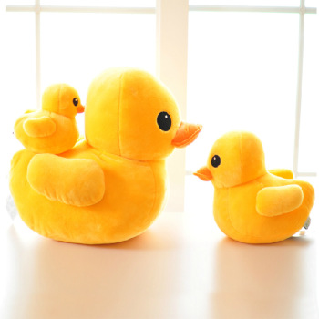 特卖大黄鸭公仔卡通鸭子抱枕儿童布娃娃可爱玩偶儿童礼物毛绒玩具