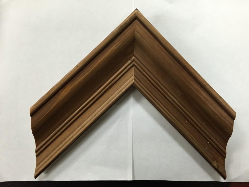 咖啡色实木线条 装饰线条图片