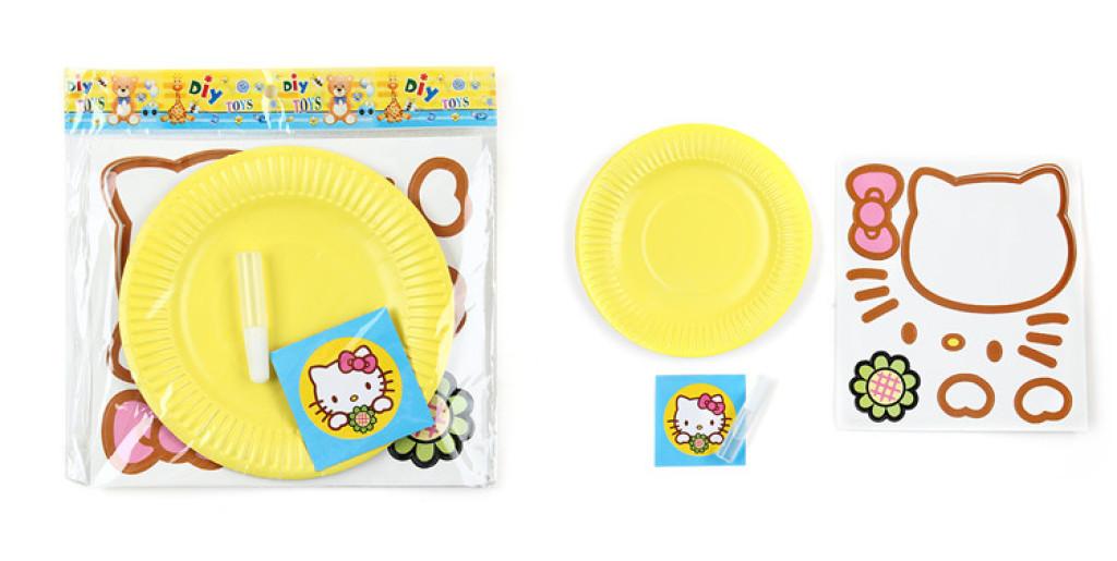 纸盘子手工幼儿园 儿童手工制作