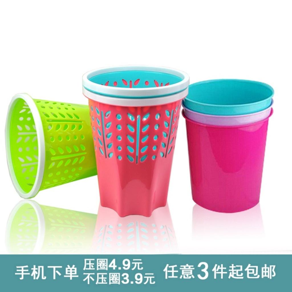 带压圈厨房卫生间家用垃圾桶