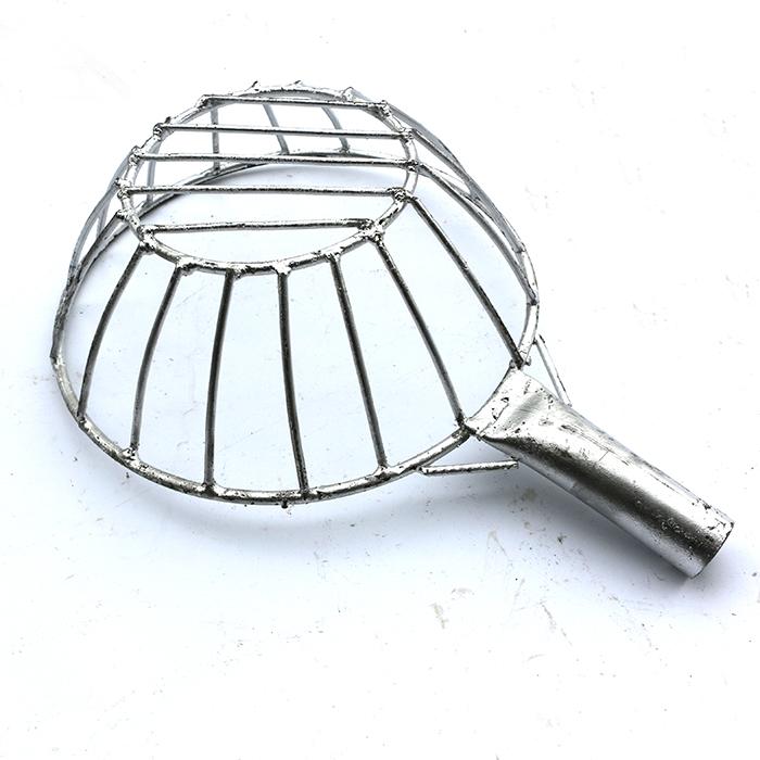 手工焊接铁丝漏勺漏网篮筛子捞渣笊篱漏油捞面漏网格