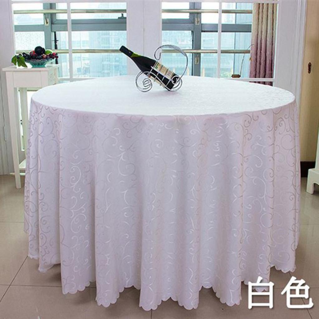 酒店桌布餐厅圆桌台布布艺