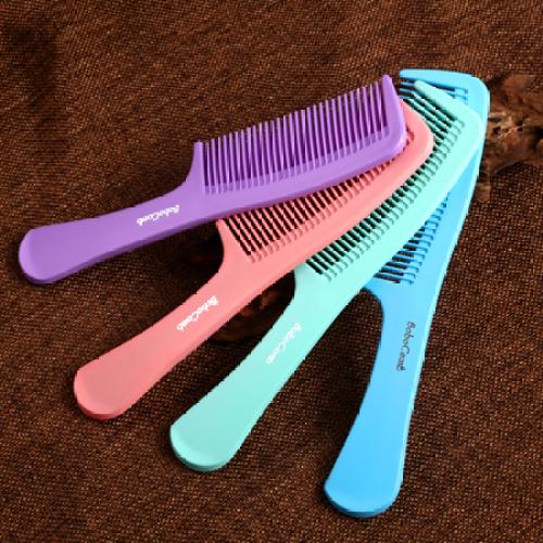 Fashion fine plastic comb handle comb comb comb comb comb hair comb hair comb