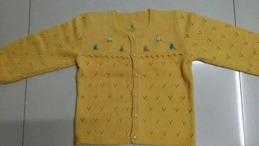 新款 毛线 羊绒线 童装 小孩手工编织毛衣