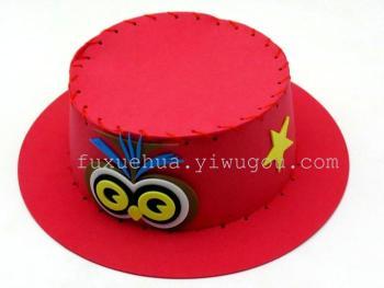 DIY hat manual material package EVA art making toys toys