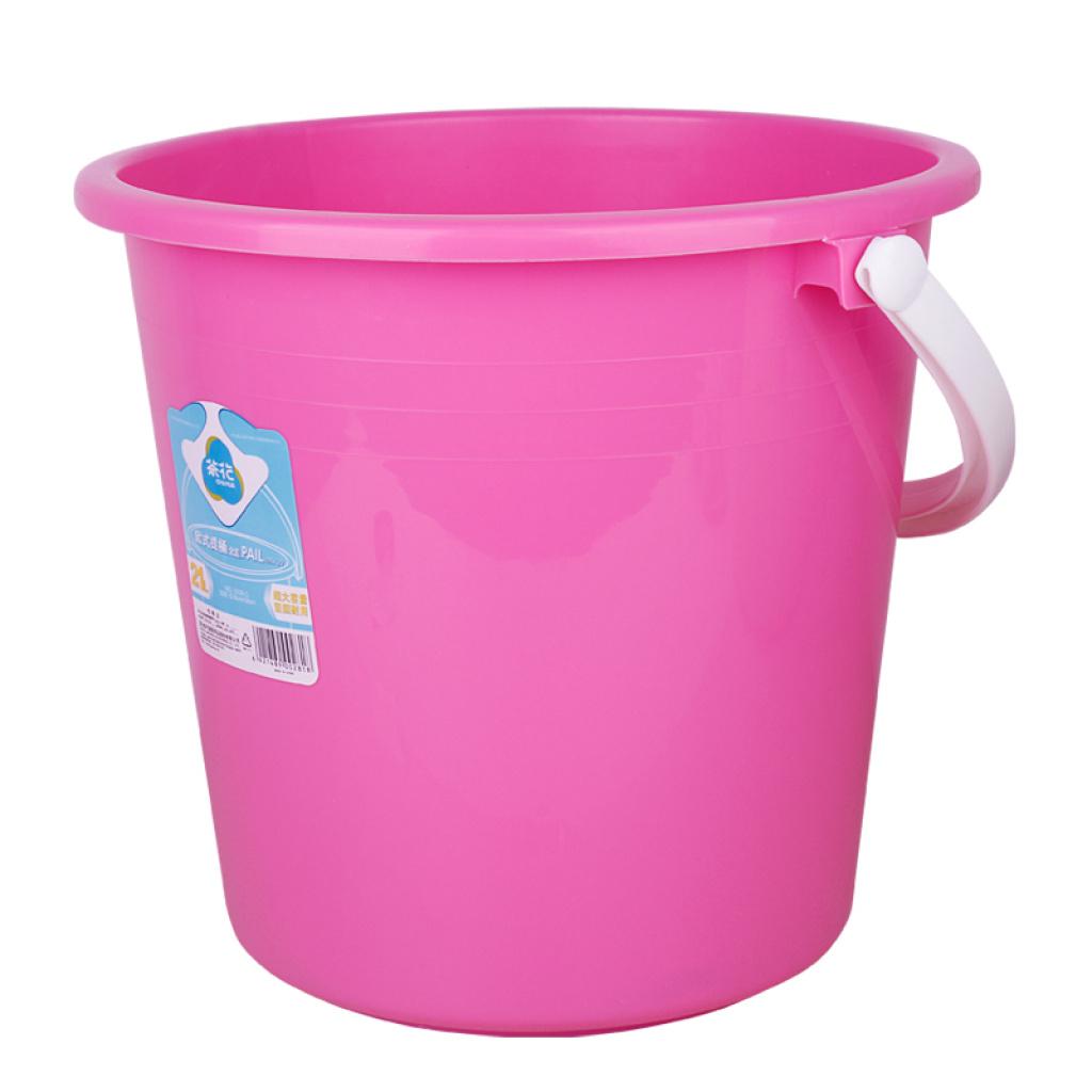 欧式加厚耐摔桶手提塑料水桶