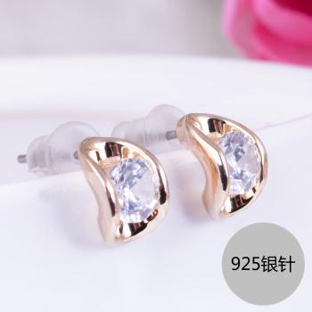 Angel Adele delicate 925 E-13699 silver earrings.