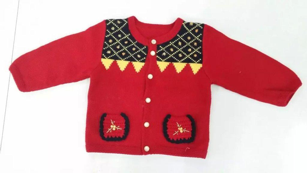 童装 羊绒线 毛线 新款 小孩手工编织毛衣