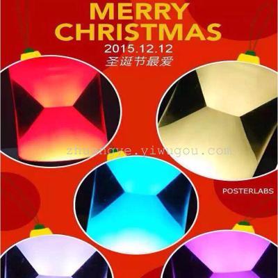 ... Spot Lamp God Bluetooth KTV Audio Hourglass Colorful Light Camping Home  Furnishing Christmas Night Light ...