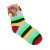 Sock manufacturers selling padded yarn dyed stripe Terry socks for children in stockings