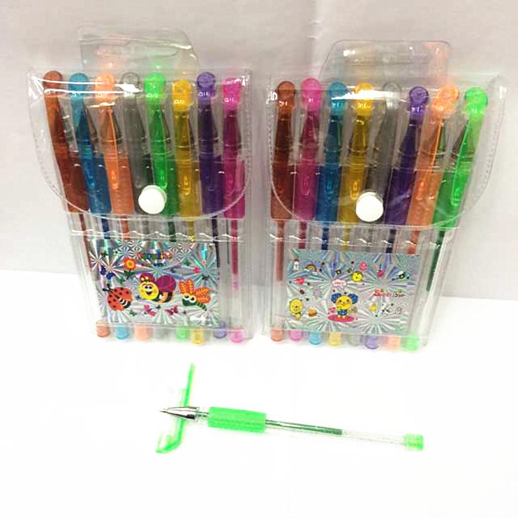 闪光笔 荧光笔 记号笔画画彩色中性笔