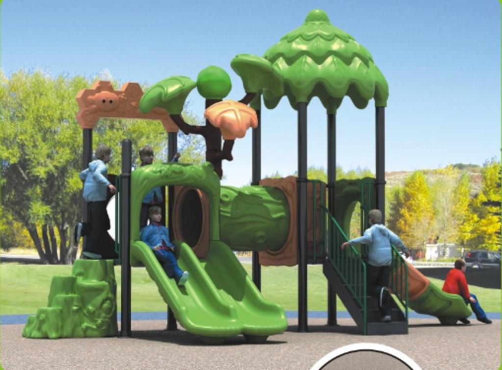 大型幼儿园树屋系列滑梯 大型滑梯 户外滑梯