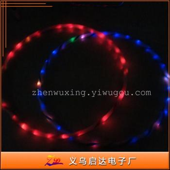 Factory direct LED Hula hula hoop creative flash