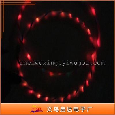 Factory direct LED Hula hula hoop creative flash