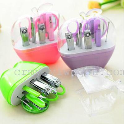 Apple Manicure nine suit Beauty Nail Scissors Nail Clipper Set