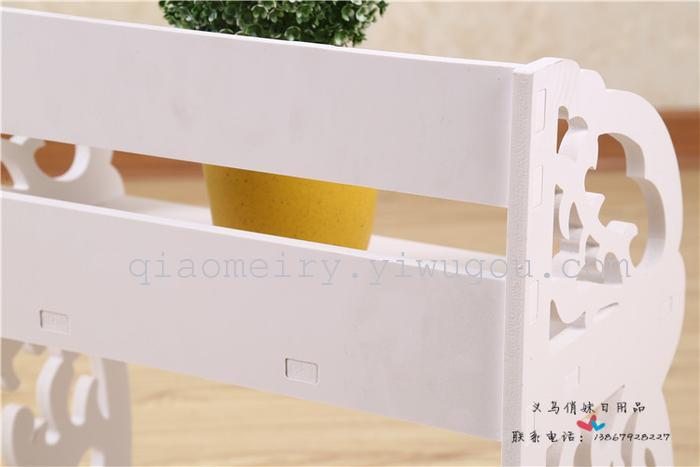 一个纸箱做书架步骤图