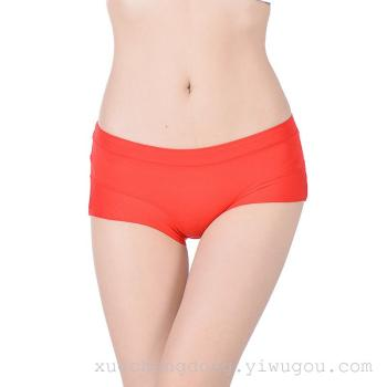 The new fashion sexy underwear waist briefs pure bamboo fiber seamless underwear factory wholesale trade