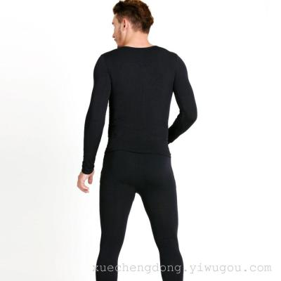 Direct selling wholesale men's cotton warm underwear autumn clothing warm clothes