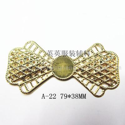 35*66 hollow metal decoration crafts accessories accessories leaves