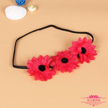 Korean Girl Hair Headband accessories simulation flower princess hair band processing inventory