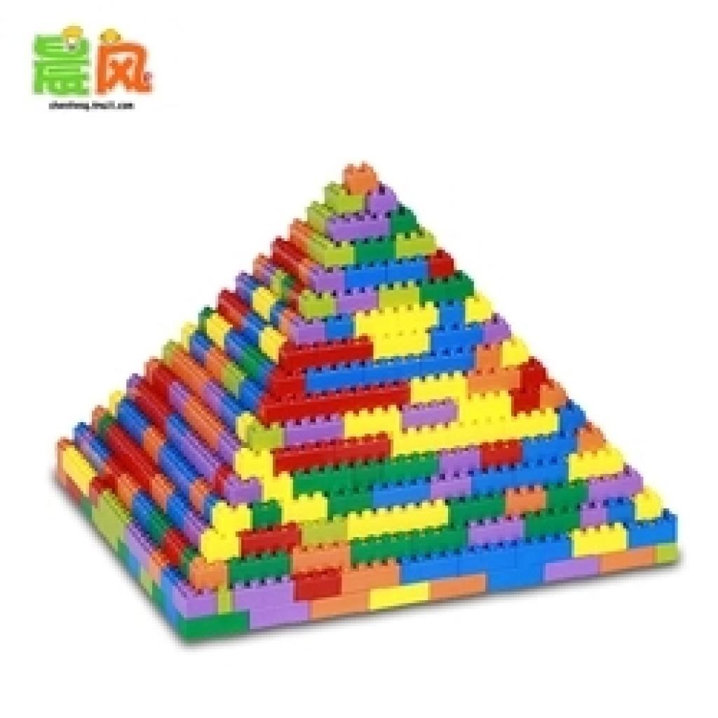 塑料颗粒拼插加厚大号方块积木幼儿园益智宝宝儿童