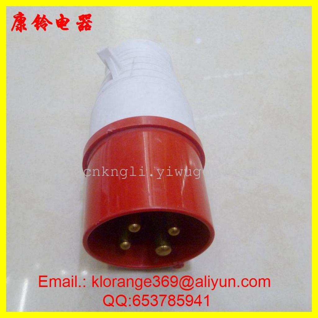 Supply Industrial Plug 014 Waterproof 16a 4 Pole Manufacture Sale Four