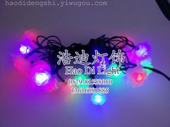 20はランプのバラのクリスマスデコレーションのストリングライト