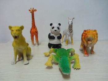 认识动物早教启蒙珍惜动物模型仿真动物实心塑