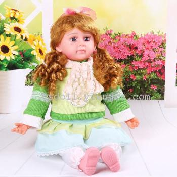 24 inch wool model music doll will sing the simulation doll toys