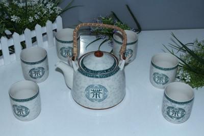 茶具,提梁壶茶具,景德镇茶具,茶