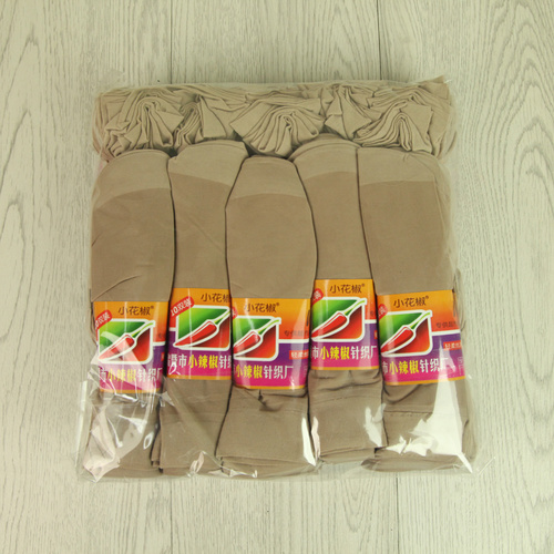 Super soft silk stockings transparent anti snag breathable and super elastic short stockings