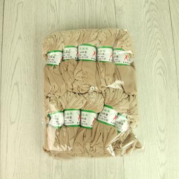 Core spun silk stockings female socks autumn thin transparent short stockings
