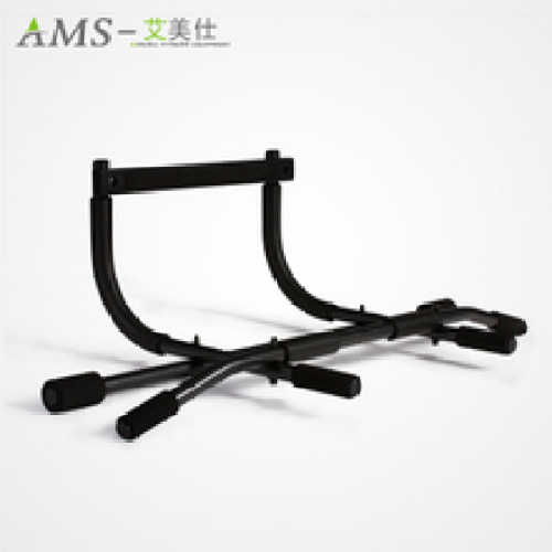 Household doors for indoor fitness barbell multi-function pull-up device frame wall bar