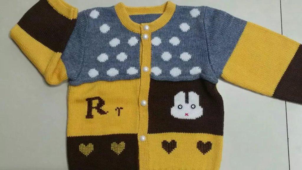 羊绒衫 羊绒线 毛线 童装 小孩手工编织毛衣