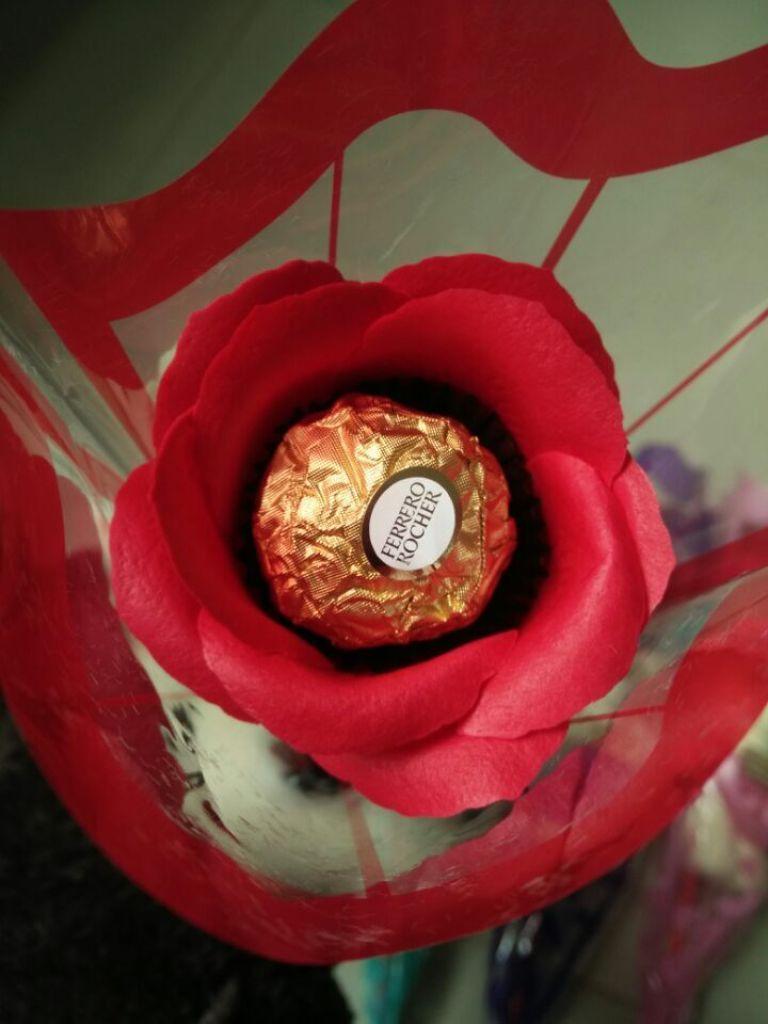 情人节小熊香皂花单支肥皂花玩具批发创意婚庆小礼品带巧克力