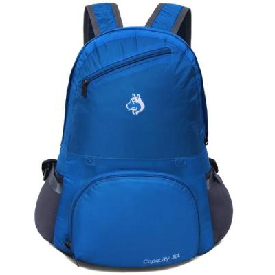Outdoor backpack hiking bag anti-rain anti-tear nylon fabric