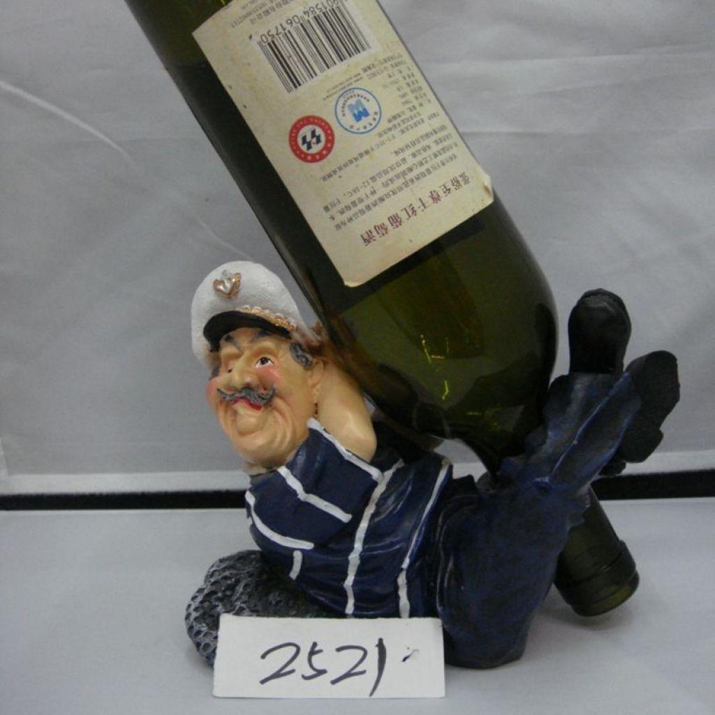 欧式红酒架酒柜装饰品树脂酒托现代葡萄酒瓶酒杯架子