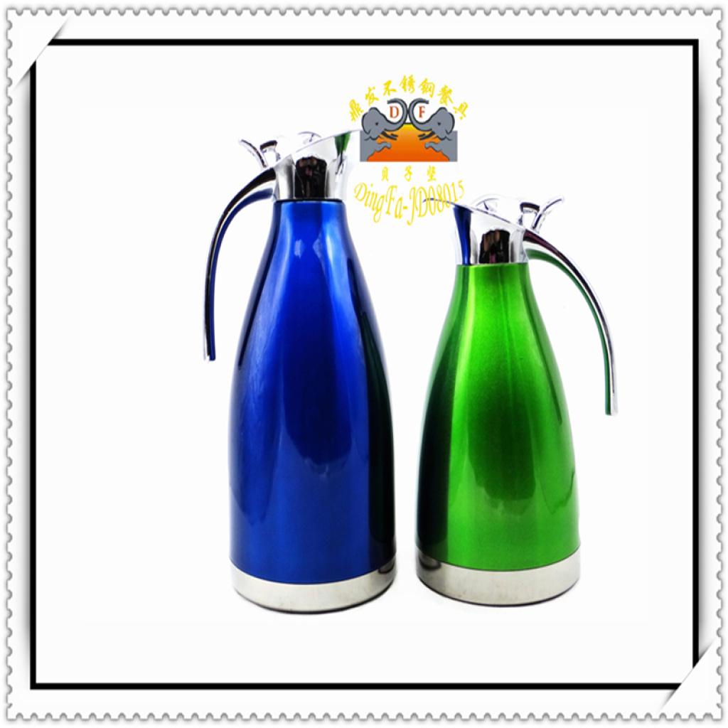 企鹅真空保温壶 欧式真空水壶不锈钢水壶真空咖啡壶